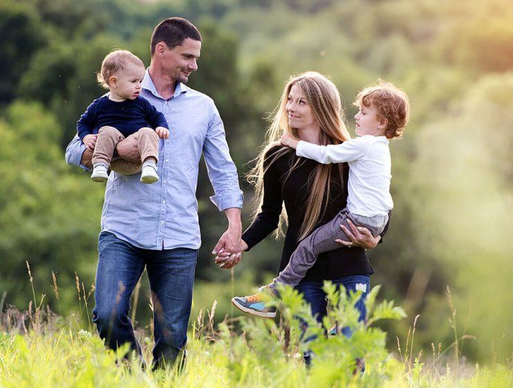 Familia in armonie