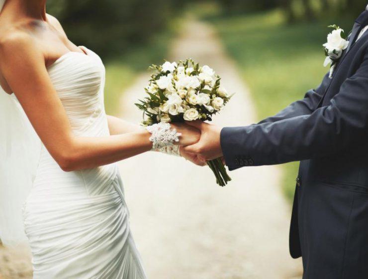 Cuplu care se casatoreste