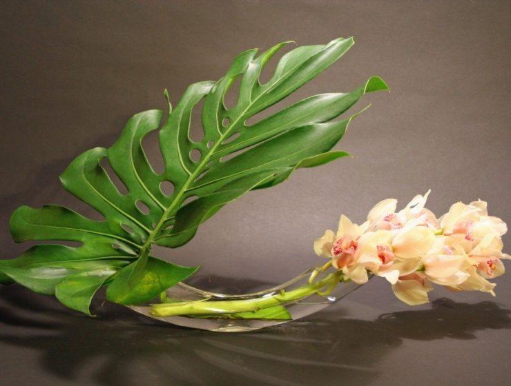 Aranjament de flori ikebana