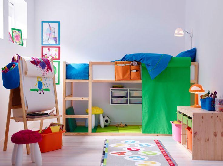 Camera copiilor cu mobila ikea