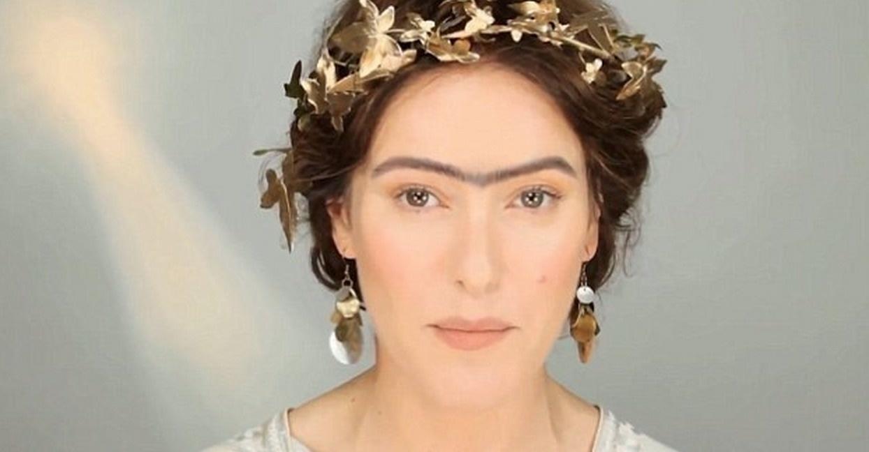 Femeie din Grecia machiata