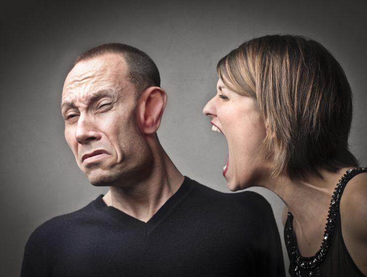 Femeie furioasa
